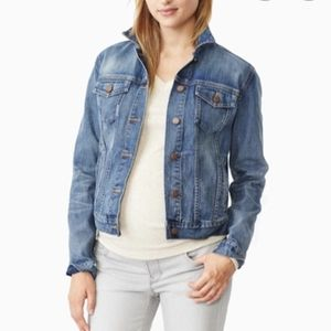 Gap maternity Jean jacket